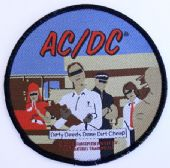 AC/DC - 'Dirty Deeds Done Dirt Cheap' Woven Patch